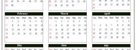 Connecticut School Calendar