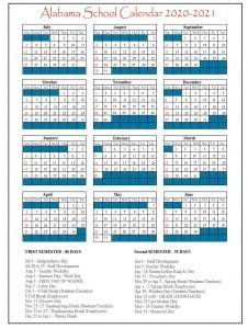 Florida School Calendar 2020